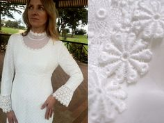 1970's Wedding Dress in Pristine Condition on Etsy, $99.00 AUD