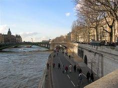Les quais de Seine.