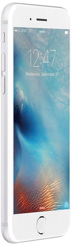 Apple iPhone 6s 64 GB International Warranty Unlocked Cellphone - Retail Packaging (Silver) - New