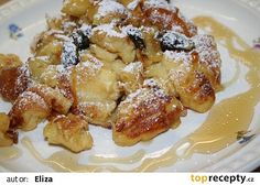 Babiččin trhanec s jablky recept - TopRecepty.cz What To Cook, Desert Recipes, French Toast, Cheesecake, Deserts, Goodies, Food And Drink, Sweets, Lunch