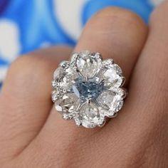 A Vivid Blue Heart Shape Diamond Blue Diamond Jewelry, Diamond Rings, Heart Shaped Diamond, Colored Diamonds, Blue Diamonds, Pretty Rings, Diamond Settings, Jewelry Crafts, Heart Shapes