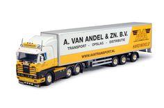 Van Andel | Tekno schaalmodellen vrachtwagens