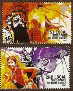 Rainbow Stamp Club: Cultural Dances on Stamps....