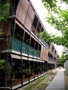 Project Name: Rue des Suisses 17 Construction year: 2000 Architect(s): Herzog & de Meuron
