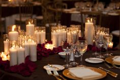 Vintage Glam and Eclectic Red and Gold Wedding - Every Last Detail