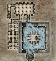 Death House Player Maps (Curse of Strahd Spoilers) Fantasy Battle, Fantasy Map, Dark Sun, Pathfinder Maps, Rpg Map, Map Layout, Adventure Map, Dungeon Maps, House Map