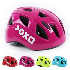 Kolodo Kids/Teenager Roller Skating Bicycle Helmet Family Cycling Safety Breathable Bike Helmet Adjustable Children Safety Protection for Girls And Boys By Pink head girth) Mountain Bike Accessories, Mountain Bike Shoes, Cycling Helmet, Bicycle Helmet, Single Speed Mountain Bike, Kids Helmets, Beach Cruiser Bikes, Bike Trainer, Specialized Bikes
