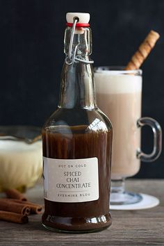 Homemade Spiced Chai Concentrate | The Evermine Blog | www.evermine.com