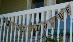 Bride to Be Burlap and Lace Banner  Wedding  by YellowHouseCompany, $38.00