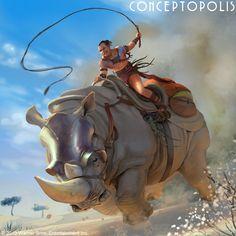 Longrider Rumble Lord by Conceptopolis