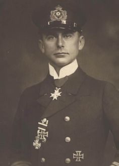 Walther Forstmann second highest scorer, 146 ships from 1914-18 He also survived the War.