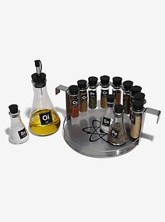 Science Chemistry Spice Rack Set | Box Lunch