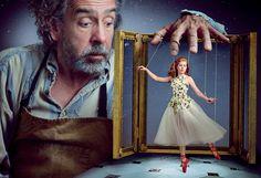 [photoshoot] Amy Adams & Tim Burton par Annie Leibovitz, pour la promotion du film Big Eyes (Vogue) | Into the Screen