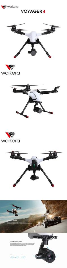 "Walkera VOYAGER 4. Voyager 4 is your best companion in the sky. ""The Flying Telescope"" provides HD visual feedback for geographic surveillance, structural analysis, and aerial photography with exceptional range, features and stability"