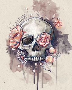 don't mind the skull in this one at all! Love this idea for a thigh tattoo I don't mind the skull in this one at all! Love this idea for a thigh tattoo.I don't mind the skull in this one at all! Love this idea for a thigh tattoo.