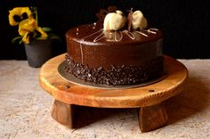Wooden cake stand Natural wood serving platter Pine wood stand cake Cutting board Ready to ship