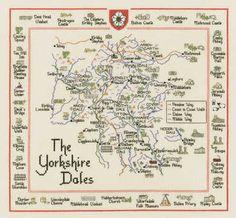 the yorkshire dales britain british isles