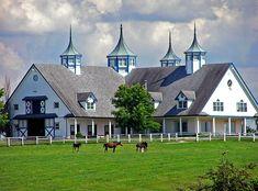 Kentucky--just riding through horse country is a beautiful treat.  Lexington area horse farm