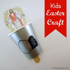 Easter Crafts for Church   Kids Easter Craft - finddailyjoy.com