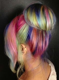 Colourful Hair Inspiration ♡ Rock your Locks