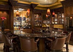 Traditional Bar | Via Zillow Digs