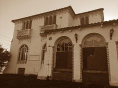 Exterior of the Abandoned Southern Funeral Home...