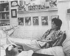 Yoko Ono, Inside the Dakota, NYC.
