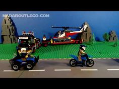 LEGO POLICE Mountain Fugitives Lego Police, Mountain, Toys, Activity Toys, Clearance Toys, Gaming, Games, Toy, Beanie Boos