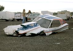 Funny Car wreck (3 of 3)