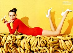 Anais Pouliot by Terry Richardson for Aldo Spring 2012 Campaign