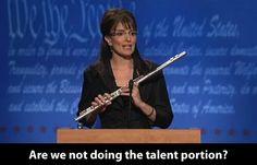 Tina Fey as Sarah Palin. Timeless.