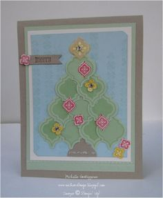 Merry Mosaic Christmas Card