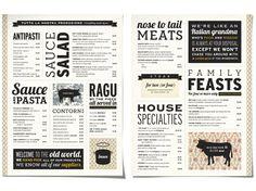Sauce Restaurant - Afloat Studios | Graphic design by Eulie Lee