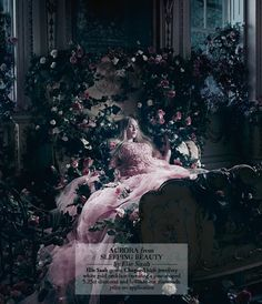 Harrods Designer Disney Princess Aurora Sleeping Beauty by Elie Saab