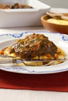 Quick Osso Buco - these veal shanks are fall-off-the-bone tender in just over an hour. You can't beat it! #EmerilsHoliday