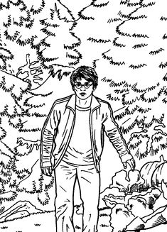 coloring page harry potter and the prisoner of azkaban on Kids-n-Fun. Coloring pages of harry potter and the prisoner of azkaban on Kids-n-Fun. More than coloring pages. At Kids-n-Fun you will always find the nicest coloring pages first! Colouring Pics, Cool Coloring Pages, Cartoon Coloring Pages, Printable Coloring Pages, Coloring Books, Colouring Sheets, Harry Potter Colors, Harry Potter Fan Art, Harry Potter Universal
