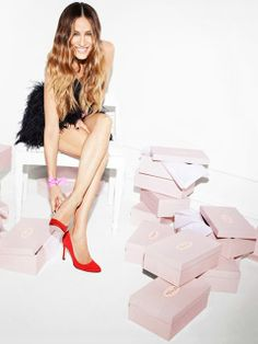 Sarah Jessica Parker Shoe Collection : first pictures