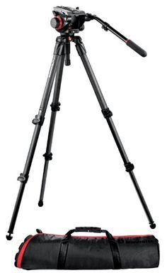 Manfrotto ビデオキット カーボンファイバー三脚 504HD-535K マンフロット http://www.amazon.co.jp/dp/B003VQXWZA/ref=cm_sw_r_pi_dp_Ox-9ub1831XFD