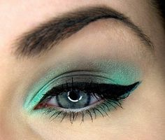 Chocolate in mint :) by MiracleOfMakeUp on Makeup Geek