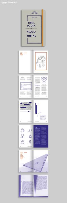 Book Design. Beatriz Arnaut. «NoteBook typology""