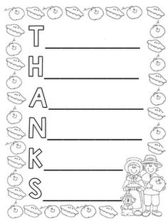 Halloween Acrostic Poem- Students can create a Halloween