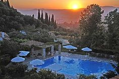 Hotel Europa in Olympia, Greece. One of the finest hotels I've ever stayed in.