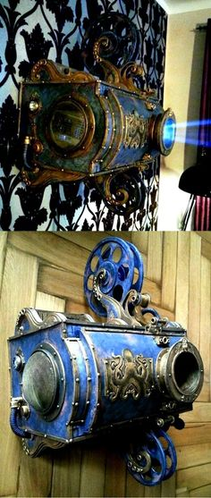 Photo: Steampunk - Beamer...