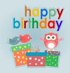 owl clip art free cute | gift Illustrations and Clip Art. 21,792 Birthday gift royalty free ...
