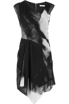 Helmut Lang  Printed stretch-silk dress  Original price $485 Now $218.25 _ (sadly, not in my size)
