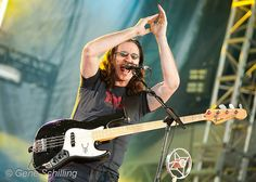 July 2010 - Sarnia, Ontario, Canada - Canadian rock trio RUSH (Geddy Lee, Alex Lifeson, Neil Peart) perform at the Sarnia Bayfest. Rush Geddy Lee, Alex Lifeson, Neil Peart, Ontario, Scene, Places, Music, Image, Musica