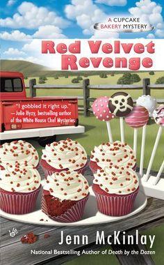 Red Velvet Revenge (Cupcake Bakery Mystery) by Jenn McKinlay, http://www.amazon.com/dp/0425251381/ref=cm_sw_r_pi_dp_p3R3pb1KAT9TN