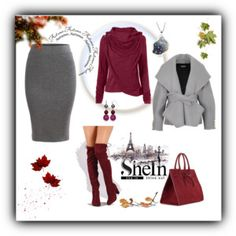 http://www.shein.com/Grey-Split-Dual-Pockets-Knit-Pencil-Skirt-p-307727-cat-1732.html?utm_source=polyvore&utm_medium=contest&url_from=ell1997