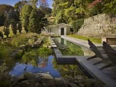 Cool natural swimming pool architecture