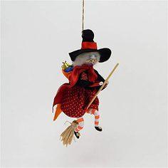 A Bit of Britain De Carlini Glass Ornament – La Befana/Kitchen Witch – Italian Blown Glass Ornament Halloween Ornaments, Glass Christmas Ornaments, Italian Traditions, Three Wise Men, Kitchen Witch, Epiphany, Blown Glass, Yule, Britain